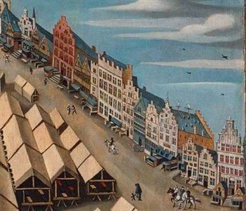 A view of Hertogenbosch, where soul mates Pieter and Marjit first meet
