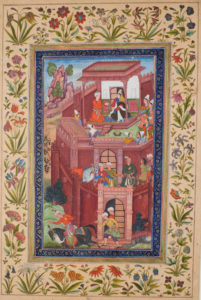 Persian miniatures show the same attention to detail and love of nature.